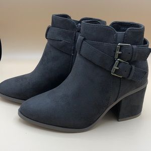 Refresh Suede Mocha booties